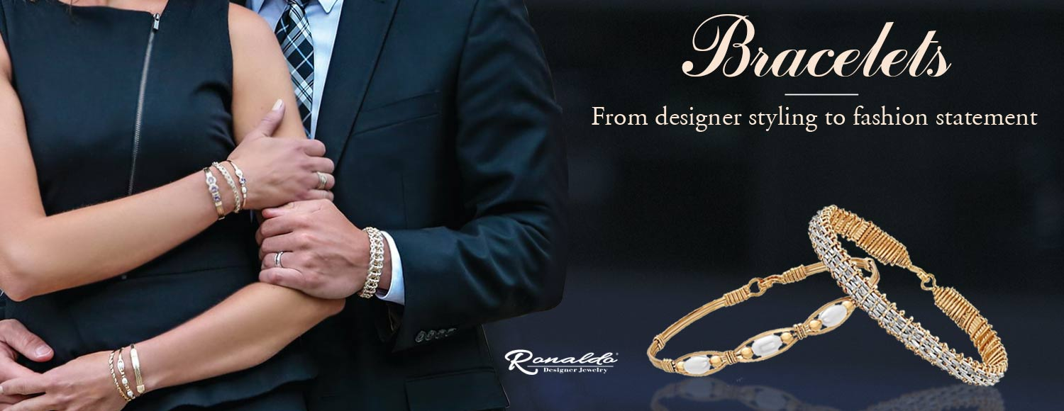 Buy Designer Ronaldo Bracelet At Steves Custom Jewelers