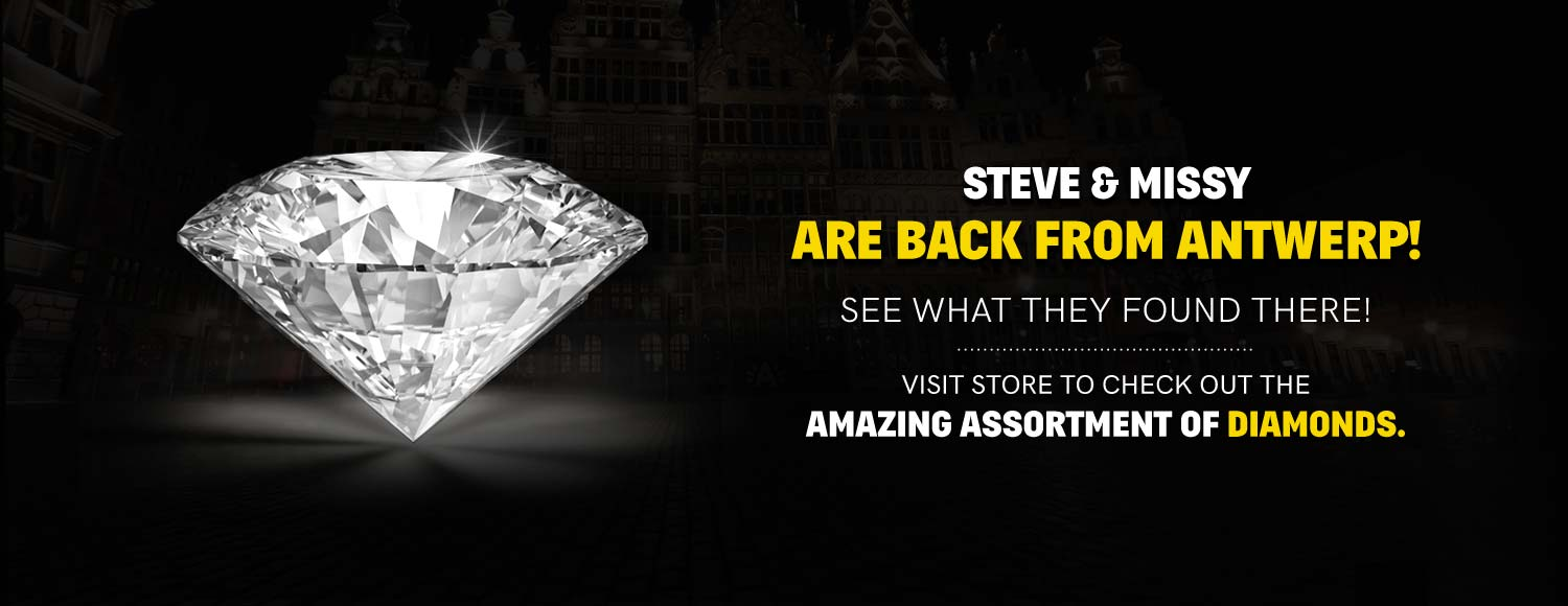 Latest Antwerp Diamonds At Steves Custom Jewelers