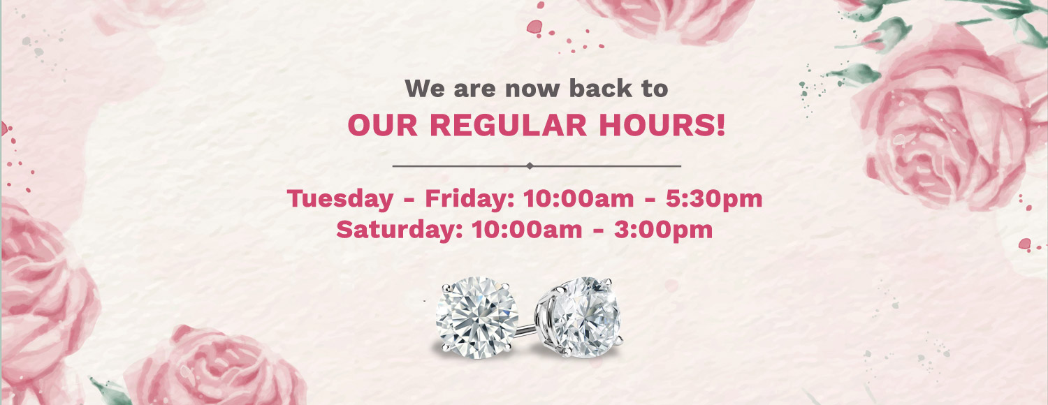 Regular Store Hours At Steves Custom Jewelers